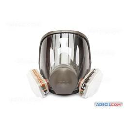 Kit Respirador Facial 3M 6800 com Cartuchos 6001