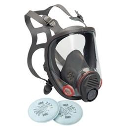 Kit Respirador Facial 3M 6800 com filtros 2071