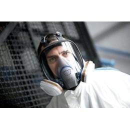 Kit Respirador Facial 3M FF400 com Cartuchos 6001