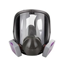Kit Respirador Facial 3M 6800 com Cartuchos 7093 P3