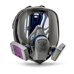 Kit Respirador Facial 3M FF400 com Filtro 7093 P3