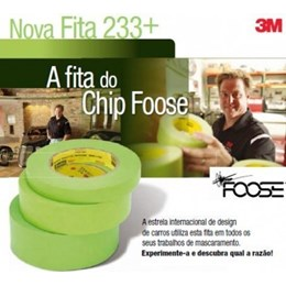 233+ Fita Crepe Automotiva 48X55