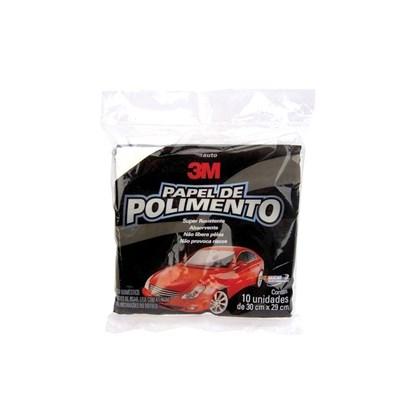 Auto Papel Polimento 3M