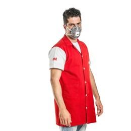 CAIXA com 60 Respirador Concha 3M 8023 Carvão Ativado