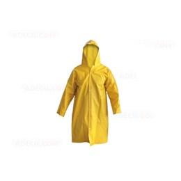 Capa de chuva PVC Amarela