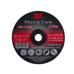 Disco de Corte 3M Aço Inox - I-Plus 178x22,2x3,0