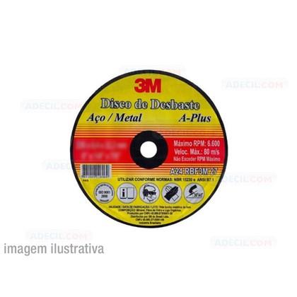Disco de Desbaste 3M – Aço Plus