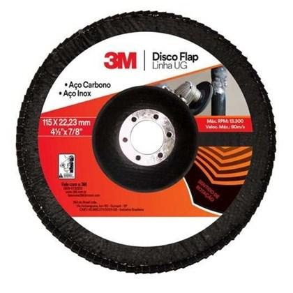 Disco Flap Uso Geral 3M 115 mm
