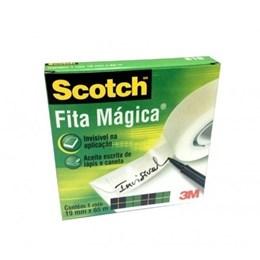 Fita Adesiva Mágica 3M Scotch® 810 19mmX65m