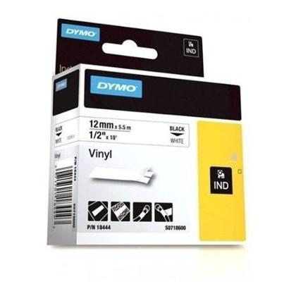 Fita Impressora - Rotuladora PVC 12 mm X 5,5 m - Vermelho