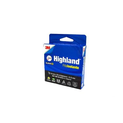 Fita Isolante 3M Highland 19 mm x 20 m