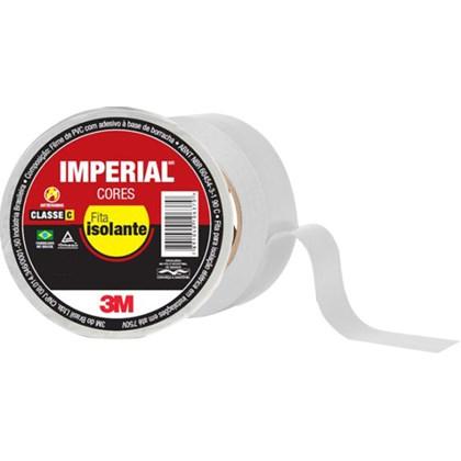 Fita Isolante 3M Imperial Branca – 18 mm x 20 m