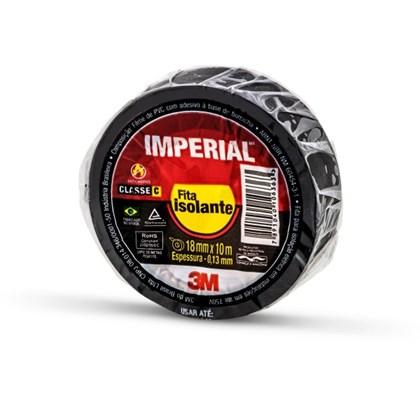 Fita Isolante 3M Imperial Preta – 18 mm x 10 m