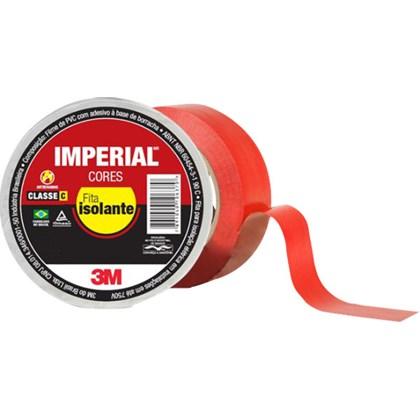 Fita Isolante 3M Imperial Vermelha – 18 mm x 10 m