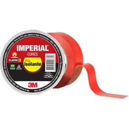 Fita Isolante 3M Imperial Vermelha – 18 mm x 20 m