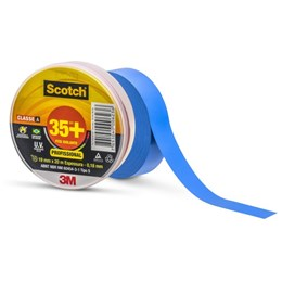 Fita Isolante Scotch 35+ Azul – 19 mm x 20 m