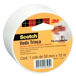 Fita Scotch 3M Veda Trinca - 50 mm x 10 m