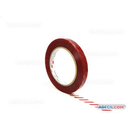 Fita tarjada vermelha 3M 5899 12 mm x 120 m