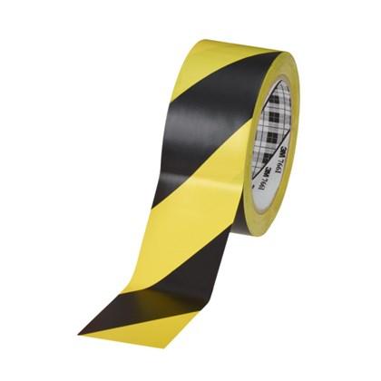 Fita Zebrada de Segurança 3M 766 – 50mm x 33m