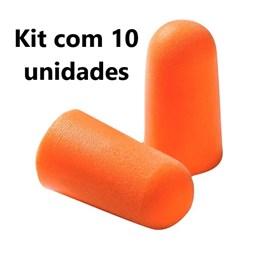 Kit com 10 - 1100 Protetor Auditivo sem Cordão