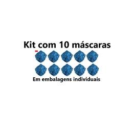Kit com 10 - 9820 Respirador Dobrável PFF2 3M