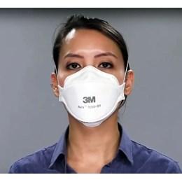 Kit com 10 - Respirador 3M Aura 9320+ Branco Pff2 #Hb004385173