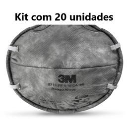 Kit com 20 - Respirador 3M 8713 PFF1