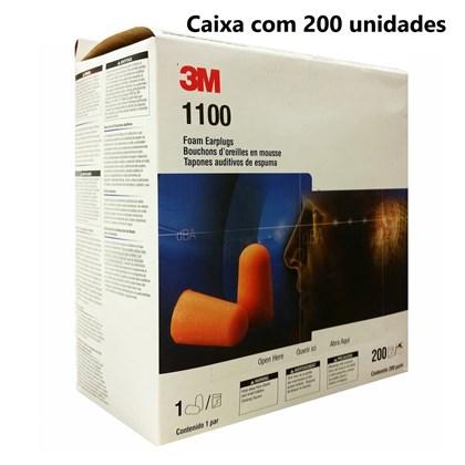Kit com 200 - 1100 Protetor Auditivo sem Cordão