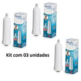 Kit com 3 Refil Filtro de Água STILLA - Aqualar 3M #HA701004103