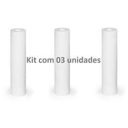 KIT com 3 - Refil para filtro 3M Aqualar Aquatotal