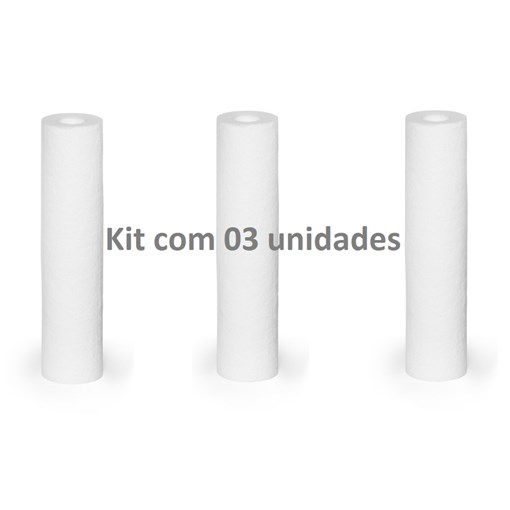 Produto KIT com 3 - Refil para filtro 3M Aqualar Aquatotal