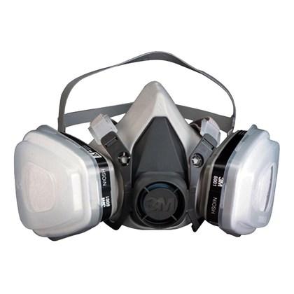 Kit Máscara 3M Semi-Facial 6200 Completa Cartucho 6001 #Hb004515894