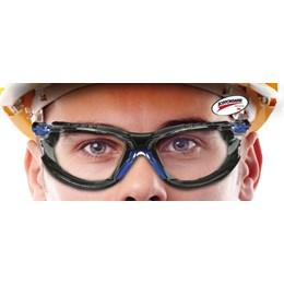 Kit Óculos 3M Solus 1000 Transparente com espuma e elástico #HB004561971