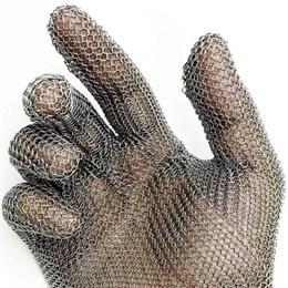 Luva Malha De Aço 100% Inox Tamanho Ep