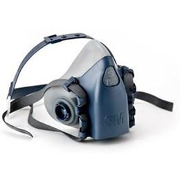 Máscara 3M 7500 - Em Silicone - Super Confortável #HB004371249