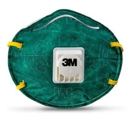 Máscara 3M 8812 C/ Válvula PFF1 Verde #HB004116677