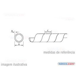 """Organizador de Cabos Spiral Tube 1"""" - metro"""