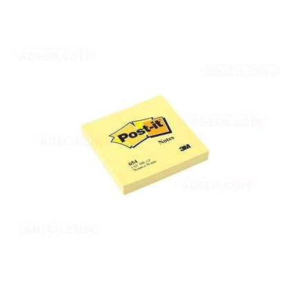 Post It Amarelo 654 76 mm X 76 mm