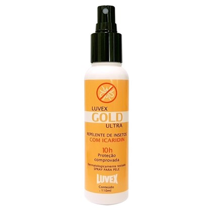 Repelente de Insetos Luvex Gold - 10 Horas - Spray 110 ml