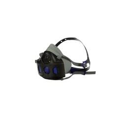 Respirador Semifacial 3M Secure Click HF-802SD Médio