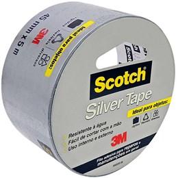 Silver Tape 3M - Uso Doméstico 45 Mm X 5 M
